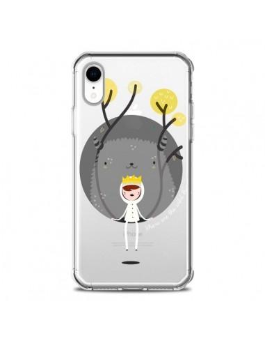 Coque iPhone XR Monstre Princesse...