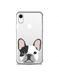 Coque iPhone XR Bulldog Français Chien Transparente souple - Pet Friendly