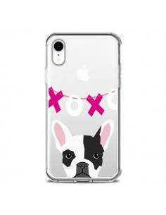 Coque iPhone XR Bulldog Français XoXo Chien Transparente souple - Pet Friendly