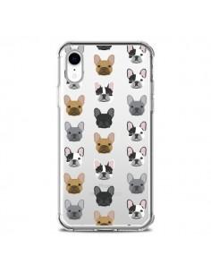 Coque iPhone XR Chiens Bulldog Français Transparente souple - Pet Friendly