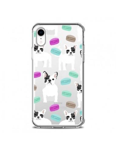 Coque iPhone XR Chiens Bulldog...