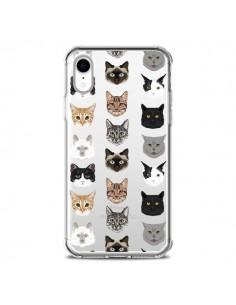 Coque iPhone XR Chats Transparente souple - Pet Friendly