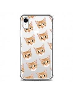 Coque iPhone XR Chats Beige Transparente souple - Pet Friendly