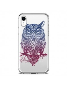 Coque iPhone XR Hibou Chouette Owl Transparente souple - Rachel Caldwell