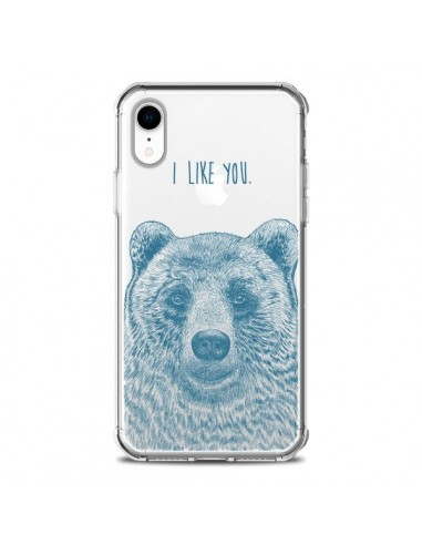 Coque iPhone XR I Love You Bear Ours...