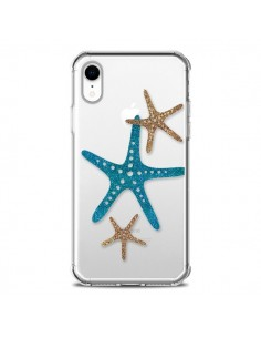 Coque iPhone XR Etoile de Mer Starfish Transparente souple - Sylvia Cook