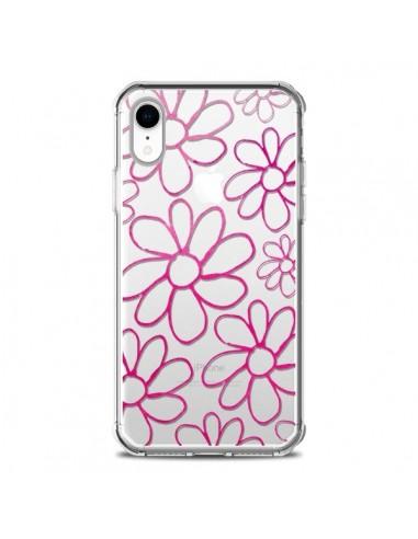 Coque iPhone XR Flower Garden Pink...