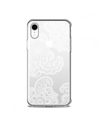 Coque iPhone XR Lacey Paisley Mandala...