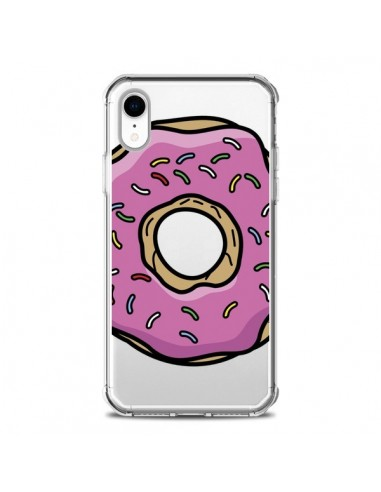 Coque iPhone XR Donuts Rose Transparente souple - Yohan B.