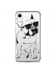 Coque iPhone XR Chien Bulldog Dog Transparente souple - Yohan B.