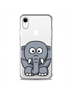 Coque iPhone XR Elephant Animal Transparente souple - Yohan B.