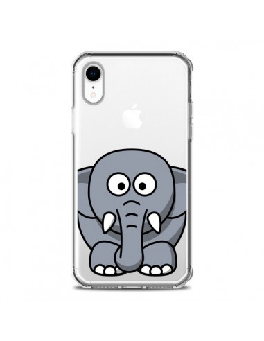 Coque iPhone XR Elephant Animal...