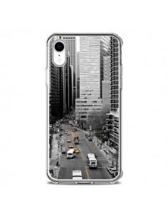 Coque iPhone XR New York Noir et Blanc - Anaëlle François