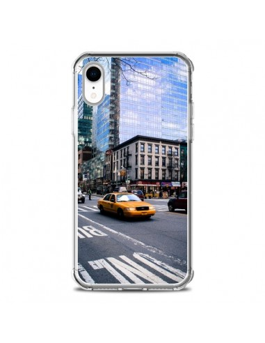 Coque iPhone XR New York Taxi -...