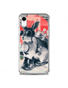 Coque iPhone XR Lapin Time Traveller - Ali Gulec