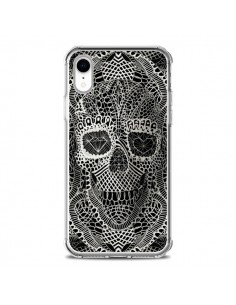 Coque iPhone XR Skull Lace Tête de Mort - Ali Gulec