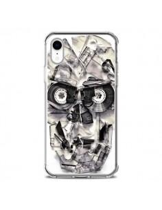 Coque iPhone XR Tape Skull K7 Tête de Mort - Ali Gulec