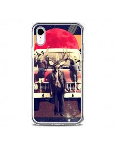 Coque iPhone XR Cerf Le Camion - Ali Gulec