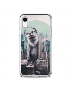 Coque iPhone XR Loutre Dj New York - Ali Gulec