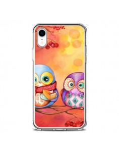 Coque iPhone XR Chouette Arbre - Annya Kai
