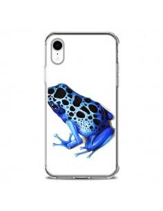 Coque iPhone XR Grenouille Bleue - Annya Kai