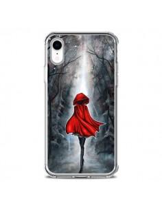 Coque iPhone XR Le Petit Chaperon Rouge Bois - Annya Kai
