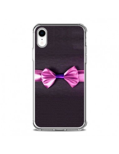 Coque iPhone XR Noeud Papillon Kitty...