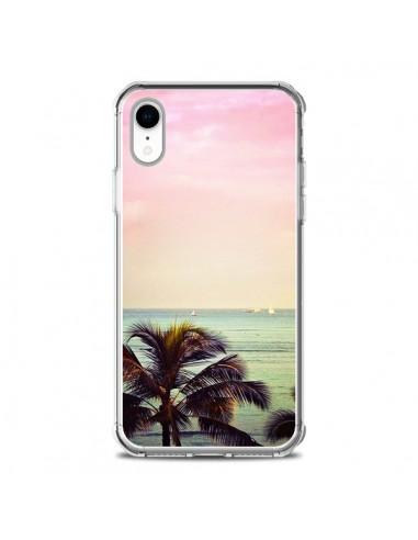 Coque iPhone XR Sunset Palmier Palmtree - Asano Yamazaki