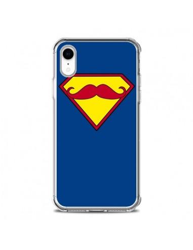 Coque iPhone XR Super Moustache...