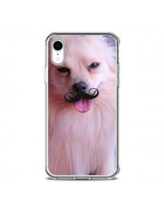 Coque iPhone XR Clyde Chien Movember Moustache - Bertrand Carriere