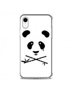Coque iPhone XR Crying Panda - Bertrand Carriere