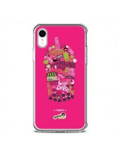 Coque iPhone XR Bubble Fever Original Flavour Rose - Bubble Fever