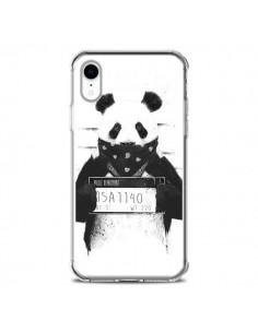 Coque iPhone XR Bad Panda Prison - Balazs Solti