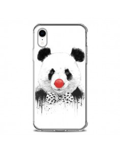 Coque iPhone XR Clown Panda - Balazs Solti