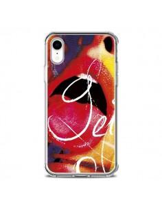 Coque iPhone XR Get Bouche Sexy - Brozart