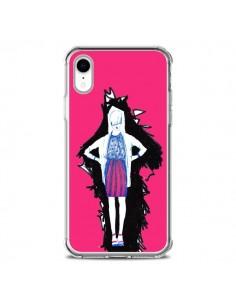 Coque iPhone XR Lola Femme Fashion Mode Rose - Cécile