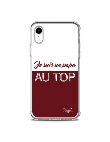 Coque iPhone XR Je suis un Papa au...