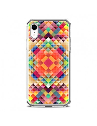 Coque iPhone XR Sweet Color Azteque -...