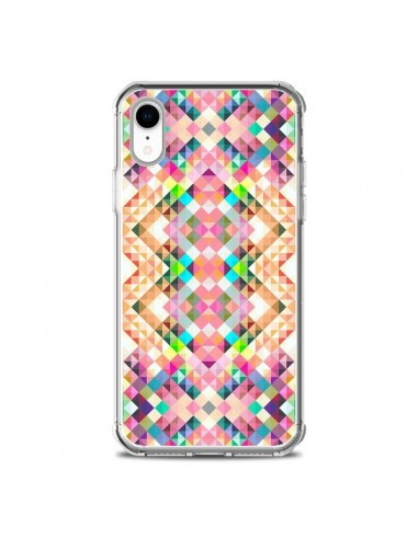Coque iPhone XR Wild Colors Azteque -...