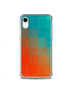 Coque iPhone XR Beach Pixel Surface - Danny Ivan