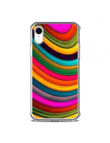 Coque iPhone XR More Curve Vagues -...