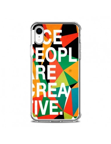 Coque iPhone XR Nice people are...