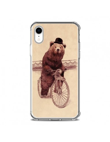 Coque iPhone XR Ours Velo Barnabus...