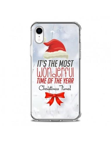 Coque iPhone XR Joyeux Noël - Eleaxart