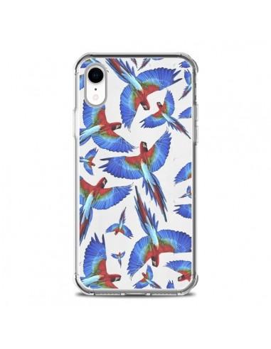 Coque iPhone XR Perroquets Parrot -...