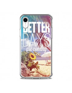 Coque iPhone XR Better Days _té - Eleaxart