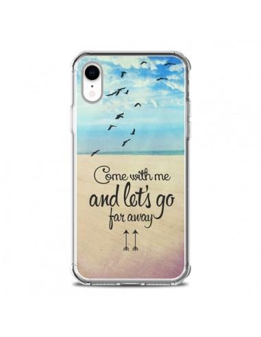 Coque iPhone XR Let's Go Far Away...