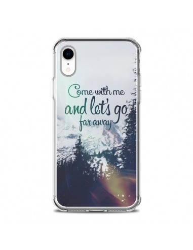 Coque iPhone XR Let's Go Far Away...