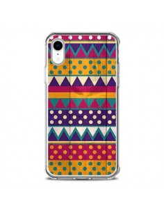 Coque iPhone XR Mexican Triangle Aztec Azteque - Eleaxart