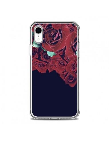 Coque iPhone XR Roses - Eleaxart